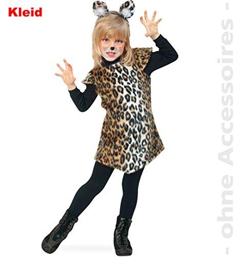 Katze, Kleid Größe 128 - Kuscheliges Kätzchen Kostüm
