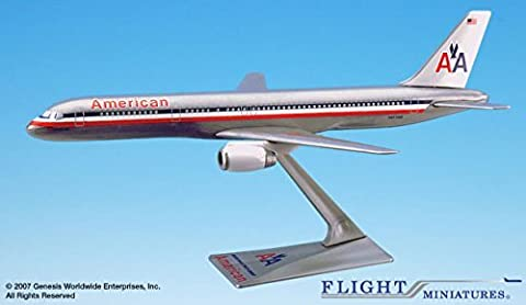 Flight Miniatures American Airlines 1970 Livery Boeing 757-200 1:200 Scale REG#N617AM Display Model