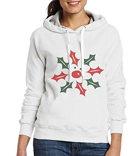 Sweatshirts for Women Holy Leaves Reindeer Womens Hoodies
