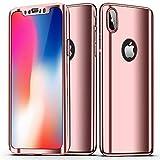SainCat Coque iPhone XS Max, Coque iPhone XS Max 360 Degres Rigide, Ultra Slim...