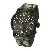 TW Steel Unisex Adult Chronograaf Quartz Horloge met Textiel Band MS124
