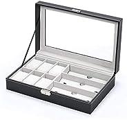 Jewelery Box & Watch Box Jewelry Storage Box Watch Box Organizer with Drawer Leather Case For Watch Jewelr