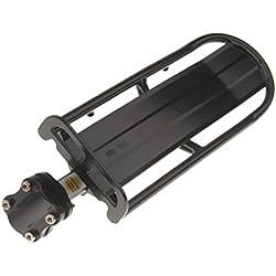 Soporte Extensible Portaequipajes Trasero Aleación De Aluminio MTB Bici Bicicleta Negro