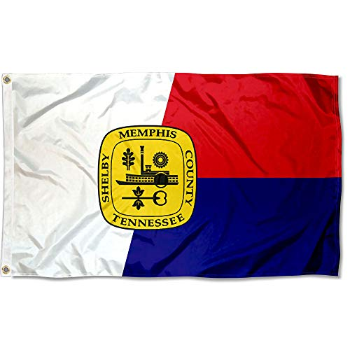 Sports Flags Pennants Company City of Memphis Flagge, 91 x 152 cm