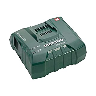 Metabo ASC Ultra 14.4-36v Li-ion Fast and Quick Charger 627265000, Green, 1