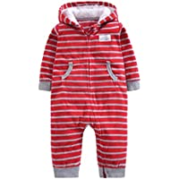 Fangcheng Baby Girl Clothes Soft Fleece Niños One Pieces Mono Pijamas 9-24M Niña Niño