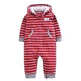 Mxssi Herbst Winter Bebes Overall Baby Strampler Cartoon Kapuzen Neugeborene Fleece Kostüme Infantil Kostüme Baby Mädchen Jungen Kleidung