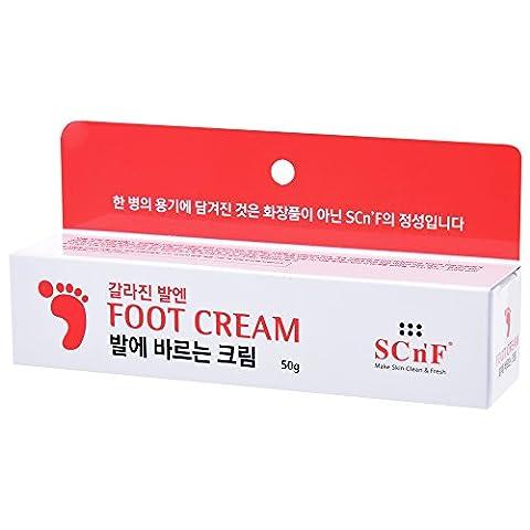 SCN 'F Fuß Creme–Feuchtigkeitsspendende & Spenden für dicke, rissige, raue, Dead & trockene Füße & Körper Haut, 50g