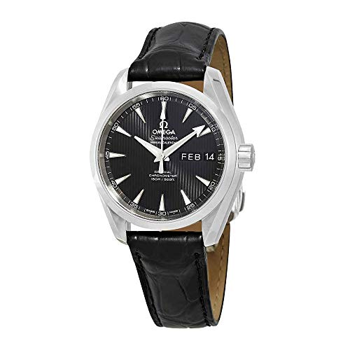 Omega Seamaster Aqua Terra Montre chronomètre Automatique pour Homme Cadran Noir 231.13.39.22.01.001