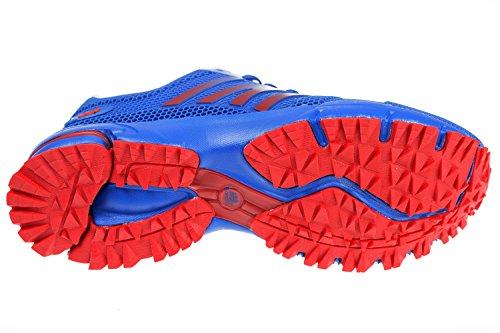 Gibra ® homme très légère et confortable-bleu/rouge-taille 41–46 pied Bleu - Blau/Rot