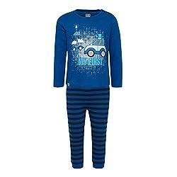 LEGO Baby-Jungen CM-50442-PYJAMAS Zweiteiliger Schlafanzug, Blau (Blue 553), (Herstellergröße: 92)
