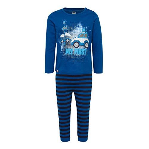 LEGO Baby-Jungen CM-50442-PYJAMAS Zweiteiliger Schlafanzug, Blau (Blue 553), (Herstellergröße: 104)