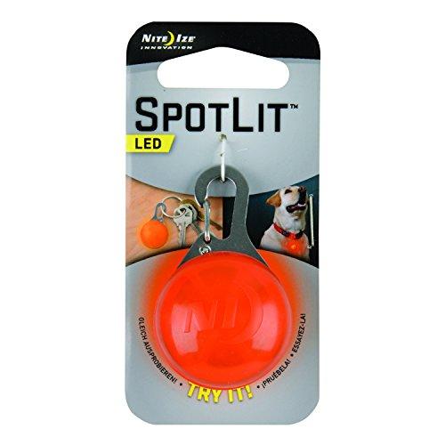 Nite Ize Signallicht Spotlit, orange, NI-SLG19-06-02 (Spotlit Led-karabiner)