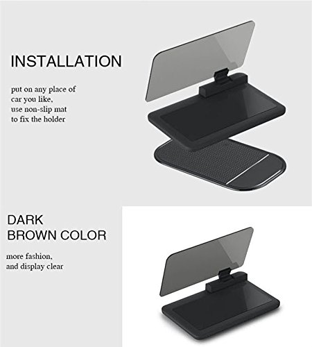 safego universal hud head up display support gps. Black Bedroom Furniture Sets. Home Design Ideas