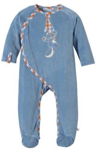 c3efde69e1d82 Noukies Bb1390133 - Pyjama - Mixte bébé - Bleu (Dunkelblau) - FR  6