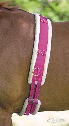 Shires Surfaix en nylon avec rembourrage en polaire-Framboise, Extra-full