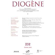 Diogène 2010 - N° 232