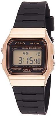 Reloj Casio Digital F-91WM-9ADF Dorado