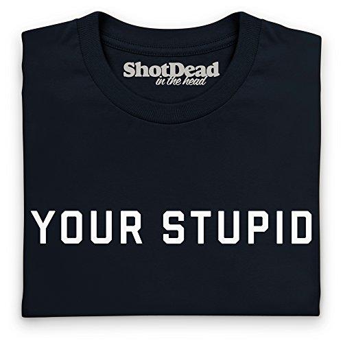 Your Stupid T-Shirt, Herren Schwarz
