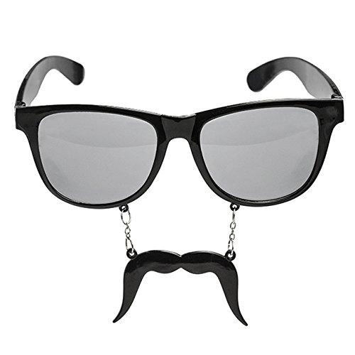 Party Brille mit Schnurrbart Feier Junggesellenabschied Karneval
