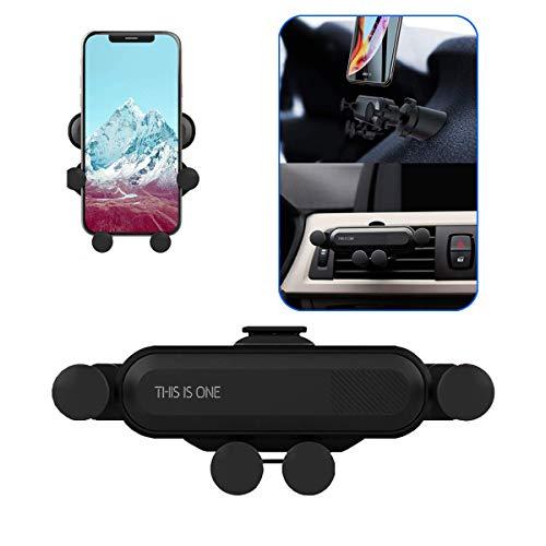 2019 Nuovo Auto-Grip Car Phone Mount, Universal Auto Air Vent Grip Gravity Car Phone Holder, Supporto Automatico Telescopico gravit/à Staffa Air Vent Mount(black-12