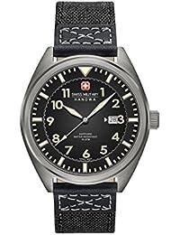 Swiss Military Quartz - SM34521AEU/H02 - Montre - Affichage - Analogique - Homme - Bracelet - Tissu - Noir et Cadran - Noir