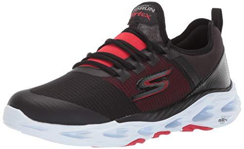 Skechers Scarpe Uomo Running Go Run Vortex Storm Nero/Bianco, 43