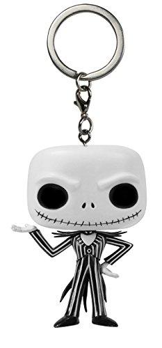Funko 5315 - Personaggio in Vinile Funko Pop! Nightmare Before Christmas Portachiavi Jack Skeletron