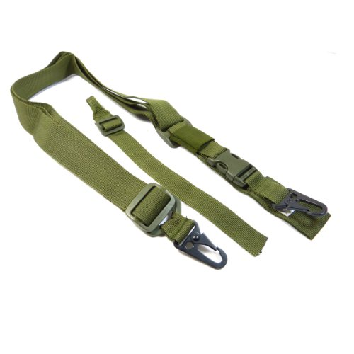 SWISS ARMS 3 POINT SLING TACTICAL SLING OD GREEN 603627 AIRSOFT M4 G36