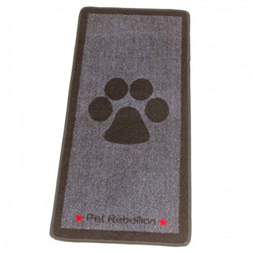 alfombra para perro, grande, gris, a prueba de pezuñas llenas de barro,...
