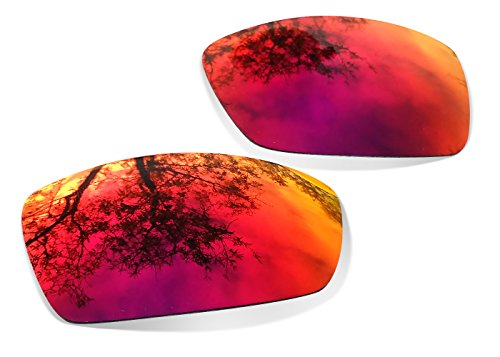 Sunglasses Restorer Lentes Polarizadas de Recambio Ruby Red para Oakley Fuel Cell
