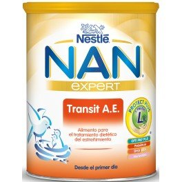 Nestlé - Leche NAN TRANSIT AE Nestlé 800 gr 0m+