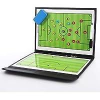 KETIEE - Lavagna tattica magnetica per allenamento, portatile, professionale, per allenatori di calcio, con pennarelli, penna e gomma
