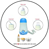 Safe-O-Kid- Feeding Essential- Electrical Bottle Milk/Food Warmer - Use in Bedroom, Fast Uniform Heating (No Hot Pockets)