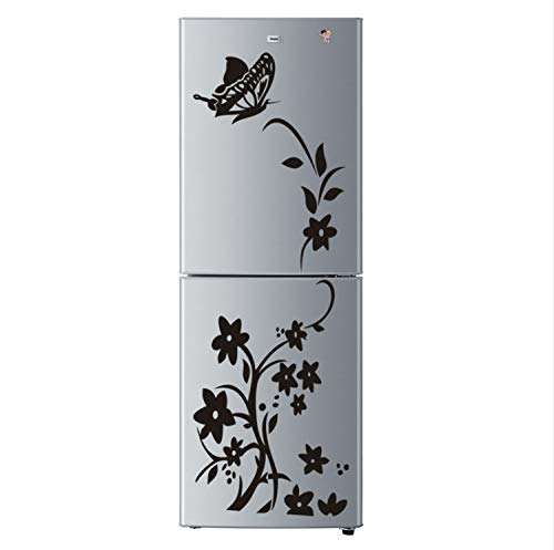 xsongue Wandaufkleber Wohnzimmer Iris Rattan Refrigerator Generation Carved Wall Stickers Waterproof and Can Be Removed -