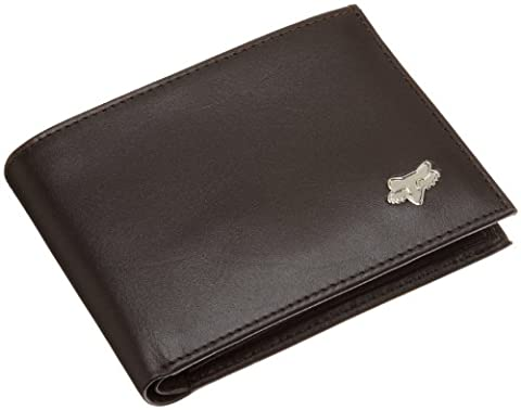 Fox - Leather Bifold Wallet Hommes -, O/S, Brown