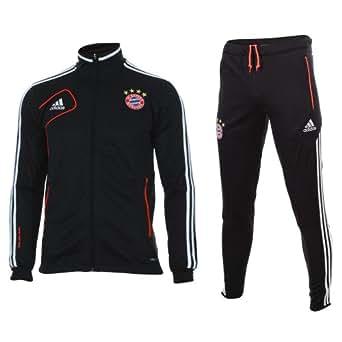 TUTA ALLENAMENTO NERO 12/13 Bayern Monaco Adidas