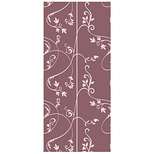 Vliestapete Tür-Premium keine. TA104Ivy altrosa-light Pink-Tür Wand Wandbild, Dimension HxB: 215x 96-0,00 Ivy Vintage Tapete