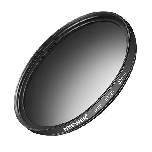 Neewer 67MM IR720 Infrarot Filter für Nikon D3300 D3200 D3100 D3000 D5300 D5200 D5100 D5000 D7000 D7100 DSLR Kamera aus HD Optikglas und Aluminiumlegierung Rahmen
