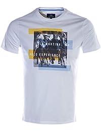 La Martina Polo Experience T-Shirt in White e5589d21e98