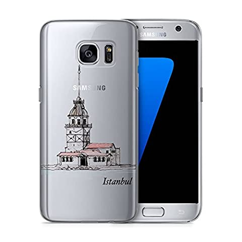 Kiz Kulesi Istanbul Samsung Galaxy S7 Edge TRANSPARENT SLIM Hülle