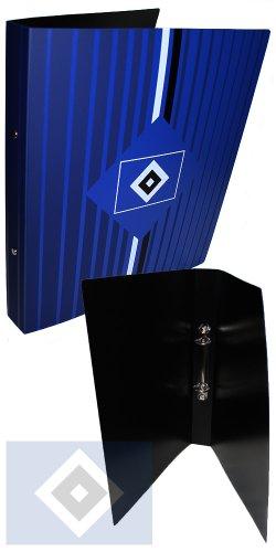 Brauns Hamburger SV Ringbuch,  blau, 29142