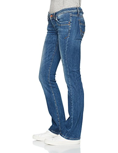 LTB Jeans Damen Bootcut Jeans Valerie Blau (Ceciane Wash 50359)