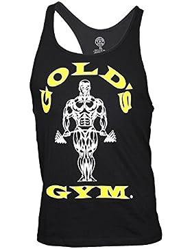 Camiseta Gold Gym Tirantes Negra Talla