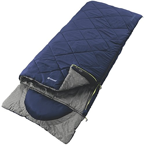 outwell-3-season-blue-single-contour-lux-sleeping-bag-camping-equipment