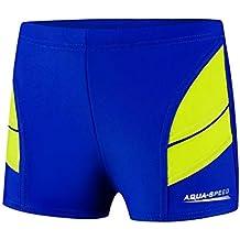 Bañador de natación Aqua Speed para niños - Pantalones cortos para nadar, con perneras,