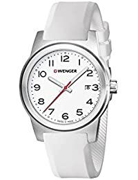 WENGER Herren-Armbanduhr SPORT DYNAMIC FIELD COLOR Analog Quarz Silikon 01.0441.147