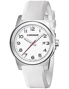 WENGER Herren-Armbanduhr SPORT DYNAMIC FIELD COLOR Analog Quarz Silikon 01.0441.147