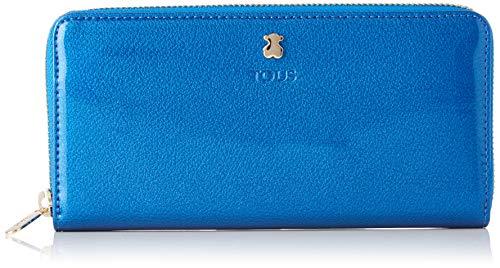 Tous 995960400, Monedero Mujer, Azul, 19.5x11x2 cm