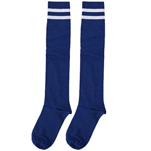 Ruiruinie calzini da calcio professionali per bambini calzini da calcio a tinta unita alti al ginocchio - 7#